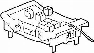Gmc Sierra 1500 Junction Block  Engine  Compartment  Main