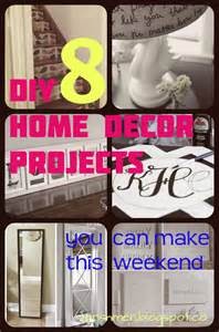 DIY Weekend Projects Home Decor