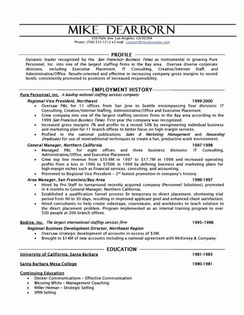 continuing education resume best resume collection