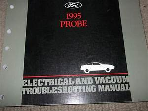 1995 Ford Probe Electrical Wiring Diagrams Service Shop Manual Ewd Evtm Oem 95