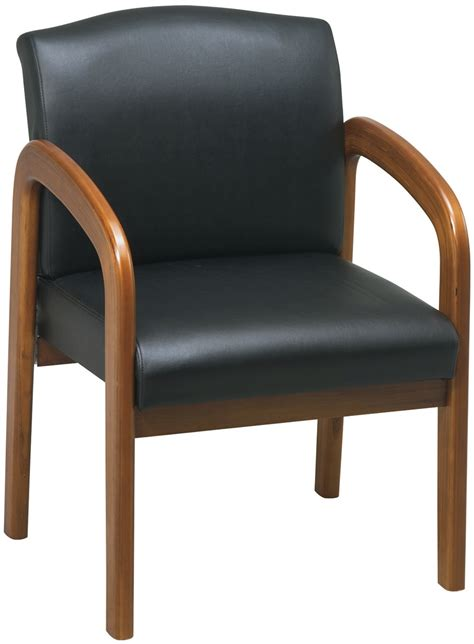 wd380 u6 office faux leather guest chair with