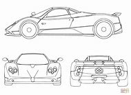 Sports Car Coloring Pages Printable