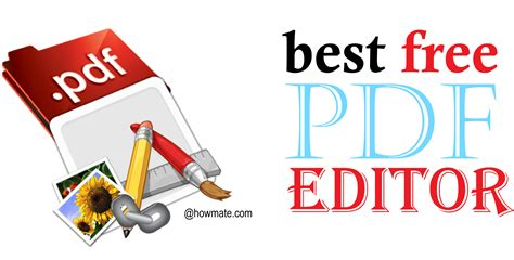 free pdf 17 best free pdf editor to customize pdf easily howmate