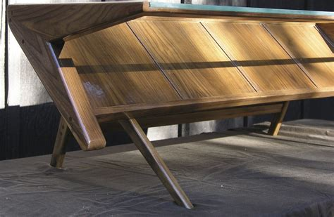 Never miss new arrivals that match exactly what you're looking for! Hand Crafted Mid Century Modern Coffee Table With Glass Top, Solid Wood, Black Walnut. by Mid ...