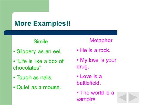 As Clear As Mud Similes And Metaphors  Ppt Video Online Download