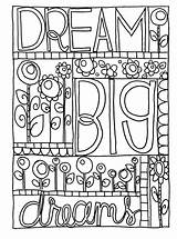 Coloring Doodle Pages Dream Sharpie Printable Journal Adult Colouring Sheets Kid Adults Bullet Google Books Nice Quote Bestcoloringpagesforkids Doodles Patterns sketch template