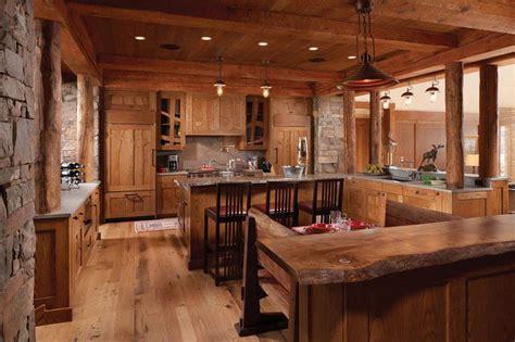 cuisine luxueuse cuisine et bois ilot et comptoir de cuisine en
