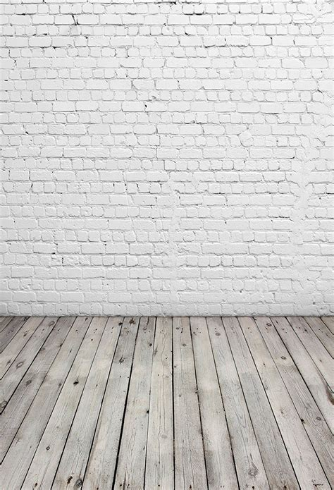 amazon com 5x7ft white brick wall photography backdrop