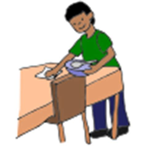 clear the table clipart lessonpix