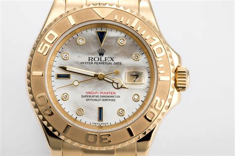 Rolex Yacht-Master Watches | ref 16628 | 40mm - 'Diamond ...