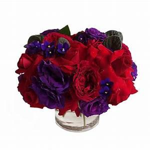 Roses and Violets – FLORAL ART