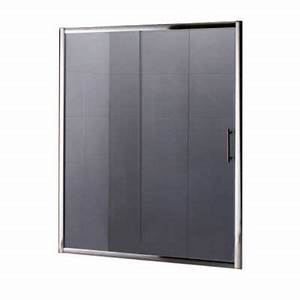 porte de douche coulissante anthracite 160 cm keros With porte douche keros