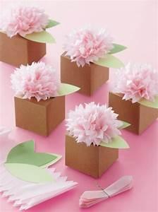 Comment Faire Une Boite En Origami : diy id es comment customiser des boites en papier boite origami de papier kraft d cor e de ~ Dallasstarsshop.com Idées de Décoration
