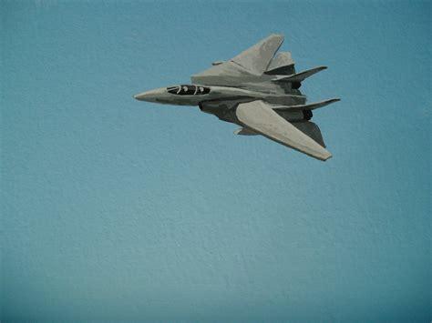 fighter jet mural