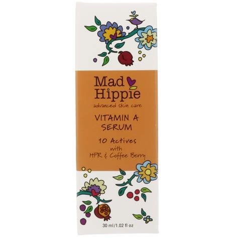 mad hippie skin care products vitamin a serum 1 02 fl oz 30 ml iherb