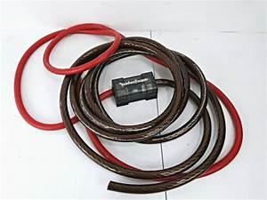 Rockford Fosgate Dual Amp 1  0 Gauge Amplifier Wiring For