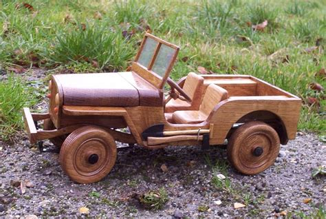 Wooden Jeep Plans Woodproject