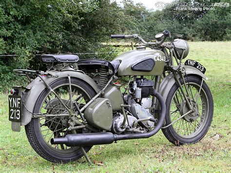 See The Bsa M20 In The Memorable Motorcycles