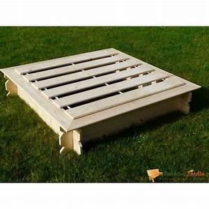 Bac à Sable Bois : bac sable carr en bois julo avec couvercle achat ~ Premium-room.com Idées de Décoration
