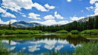 Alaska Nature Landscapes Lakes Land Forests Wallpaperup