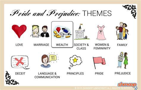 pride  prejudice theme  wealth