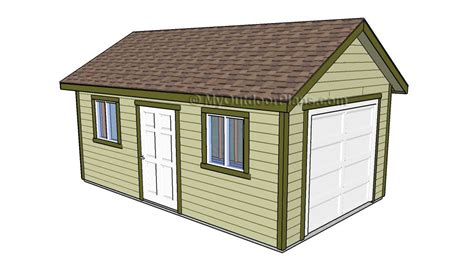 diy garage plans  detailed drawings  instructions