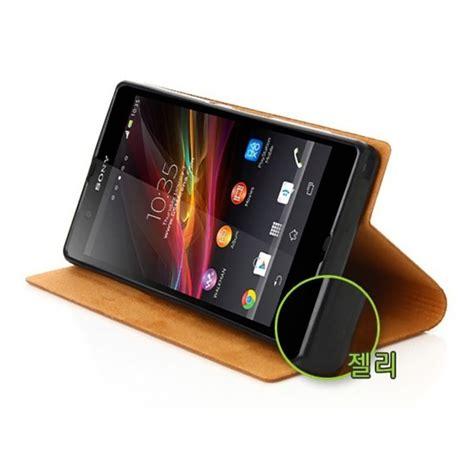 android cover tridea premium italian card pocket flip cover for