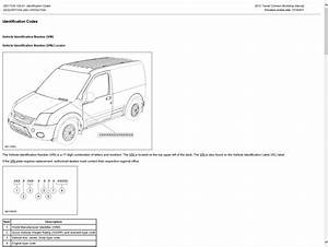 Ford Transit Connect 2012 Manual De Taller Y Reparacion