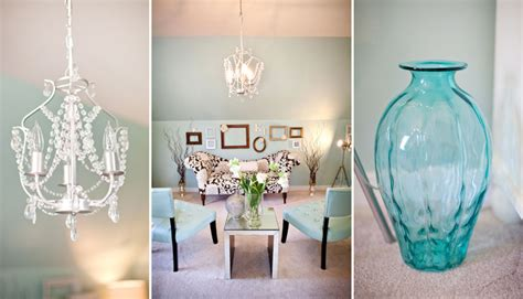 Teal Decor by Our House Before Amp Afters Virginia Wedding