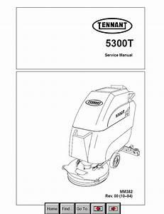 Tennant 5300t Download Pdf Service Manual