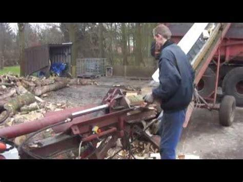 houtkloofmachine houtklover youtube