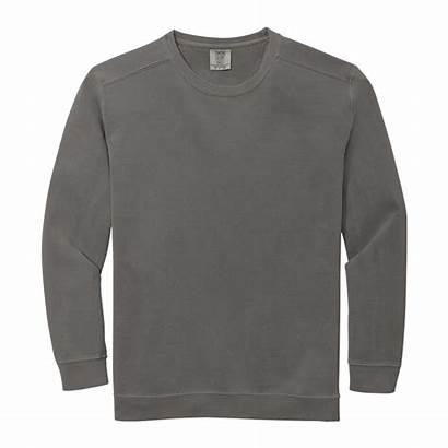 Crewneck Comfort Colors Grey Sweatshirt Crimson Wine