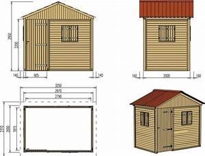 plan de cabane de jardin obasinccom With cabane de jardin plan