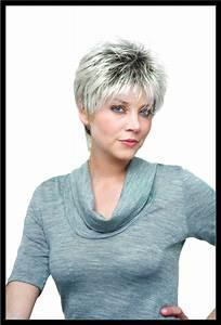 Coupe De Cheveux Femme Courte : coupe courte femme cheveux gris ~ Melissatoandfro.com Idées de Décoration