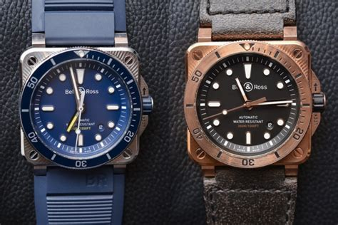 Bell & Ross Br03-92 Diver Blue And Bronze