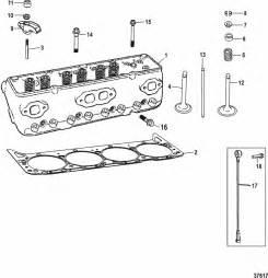 Mercruiser 5 0l Mpi Alpha    Bravo Ec Cylinder Head