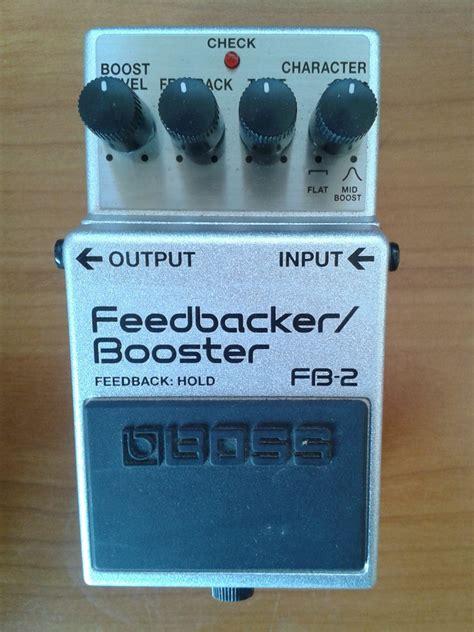 feedbacker booster fb 2 fb 2 feedbacker booster image 1604778 audiofanzine