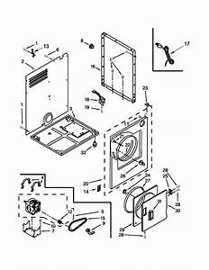 Whirlpool Model Ldr3822pq2 Residential Dryer Genuine Parts
