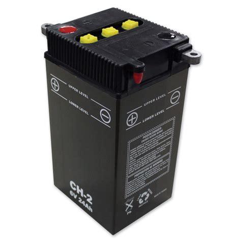 6V Battery Model H2 | 350-108 | J&P Cycles