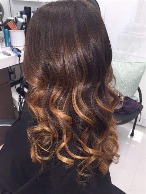 Brown With Hair by How To Chocolate Caramel Swirl Balayage Career