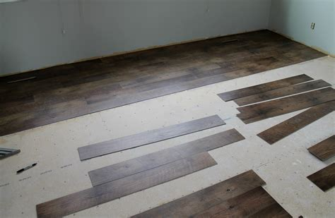 how to install self adhesive vinyl tile on concrete tile