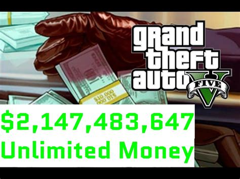 Gta 5 ,147,483,647 Unlimited Money In 10 Minutes