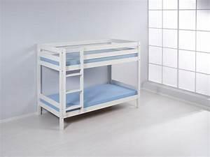 Hochbett Kinder Weiß : etagenbett hochbett kinder bett aus massiver kiefer knuth weiss ebay ~ Whattoseeinmadrid.com Haus und Dekorationen