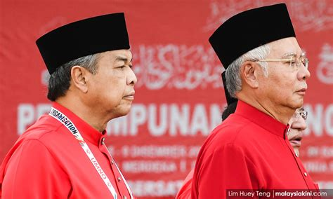 Do your best to eliminate. UMNO is having a Constitutional Constipation = Tak Boleh Berak! Can not oust Najib & Zahid ...