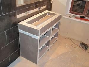 faire meuble salle de bain meuble with faire meuble salle With meuble salle de bain nantes
