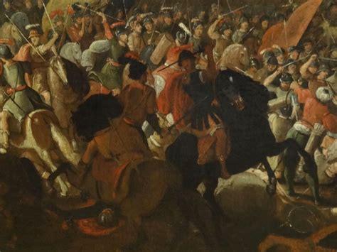 pouf siege large 16th 17th century ottoman war battle siege