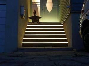 Treppenbeleuchtung Led Außen : ideen treppenbeleuchtung aussen ~ Markanthonyermac.com Haus und Dekorationen