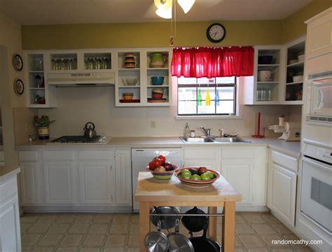 structuring  minimalism open shelf kitchen random cathy