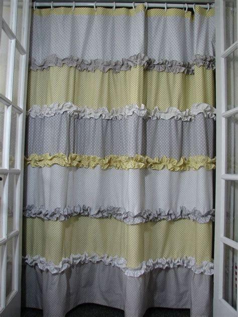 gray yellow shower curtain yellow and grey shower curtain yellow showers and grey
