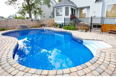 Beautiful Color! Prefab Pool.